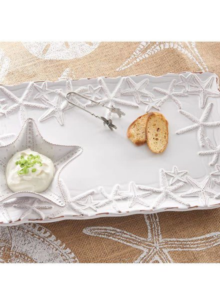 Mudpie Starfish Chip & Dip Set