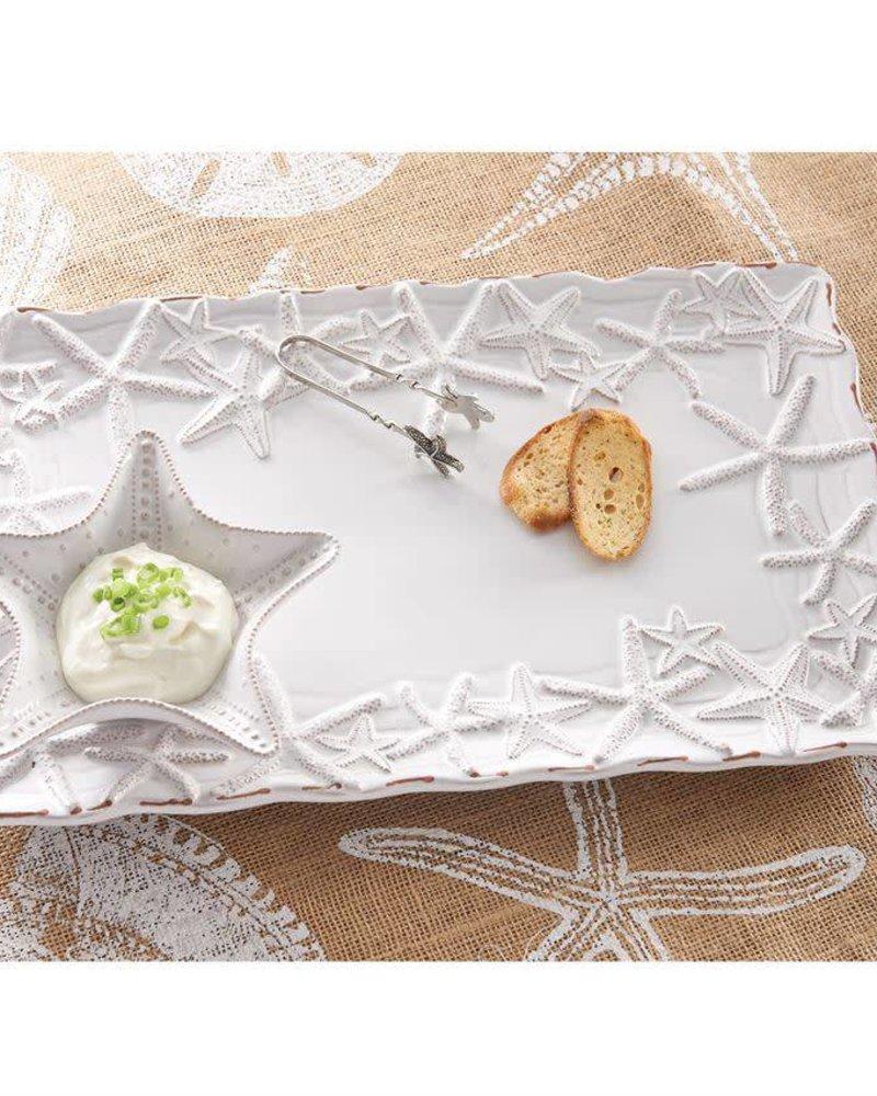 Mudpie Starfish Chip & Dip Set