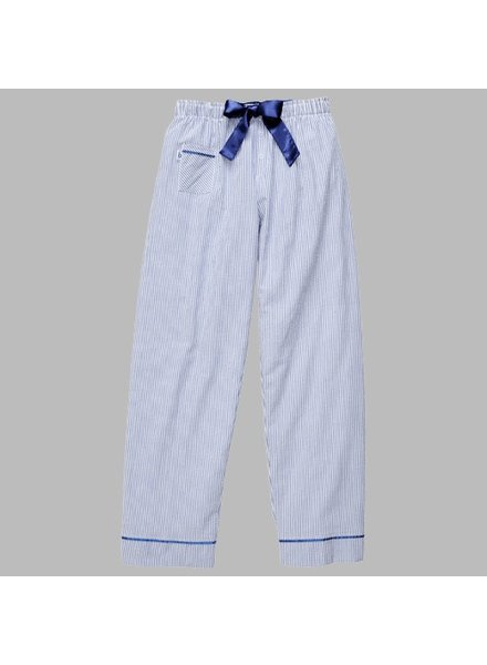 Boxercraft Ladies Navy Seersucker Pant