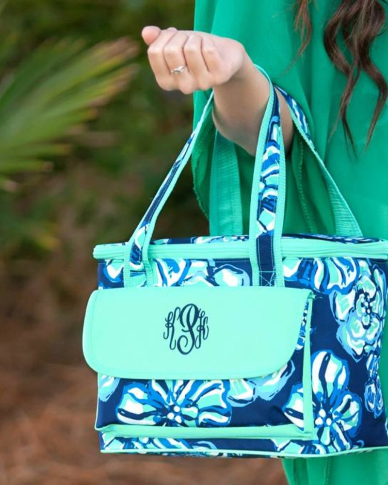 Wholesale Boutique Floral Print Cooler Bag