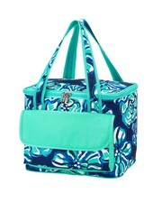 Wholesale Boutique Personalized Floral Print Cooler Bag