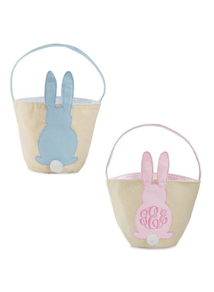 Mudpie Canvas Easter Bunny Basket