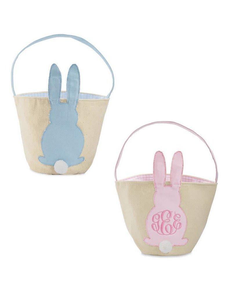 Mudpie Canvas Easter Bunny Basket