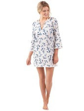 Mudpie Blue Anchor Tunic Coverup