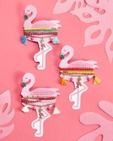 Two's Company Flamingo Bracelet Sets