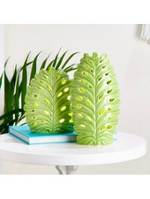 Two's Company Monstera Palm Leaf Lights