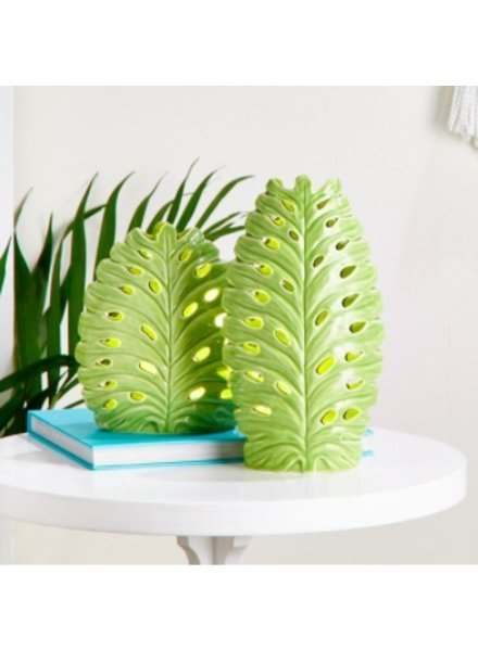 Two's Company Monstera Palm Leaf Light (2 Sizes)