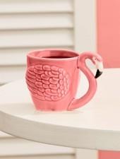 Two's Company Flamingo Teacup