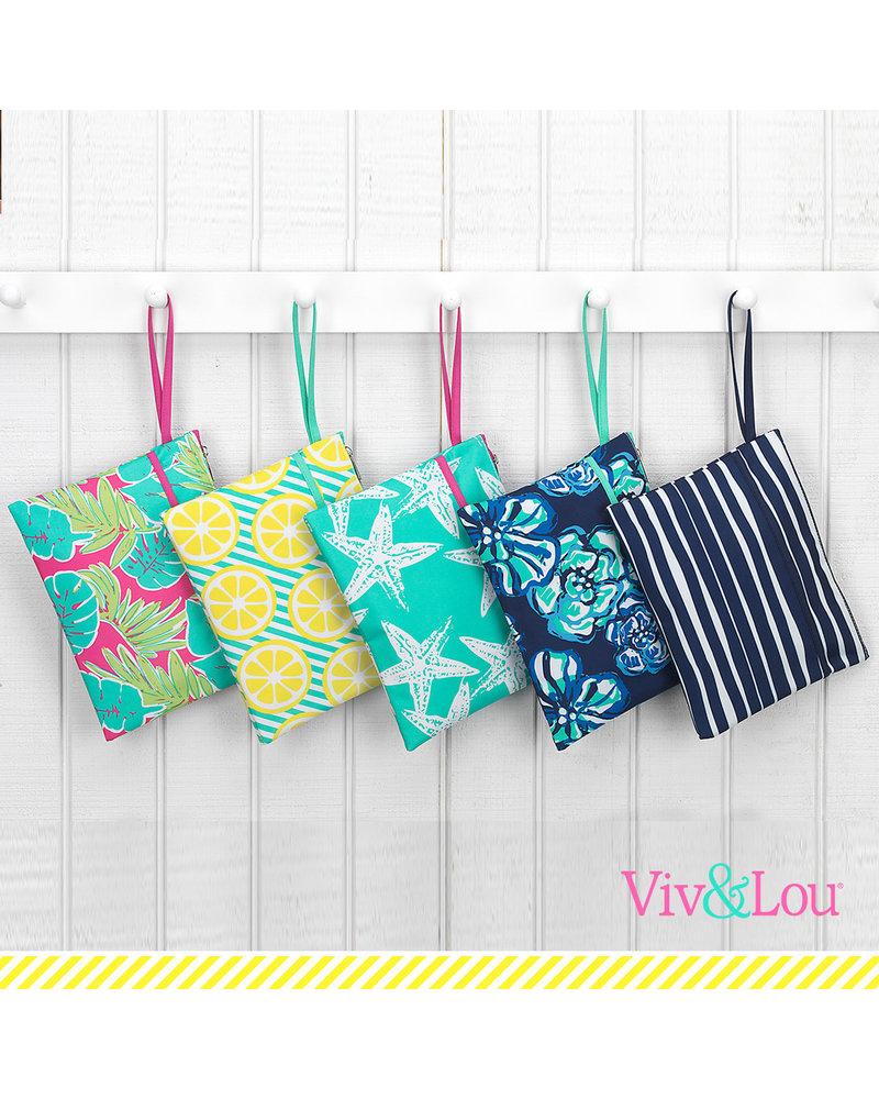 Wholesale Boutique Beach Zip Pouch Wristlet