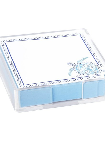 Lilly Pulitzer Turtley Awesome Acrylic Notes Holder