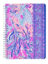 Lilly Pulitzer Aquadesiac Mini Notebook With Monogram