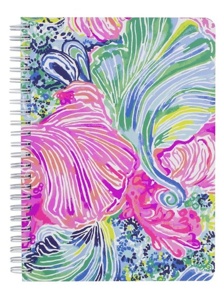 Lilly Pulitzer Beach Please Mini Notebook With Monogram