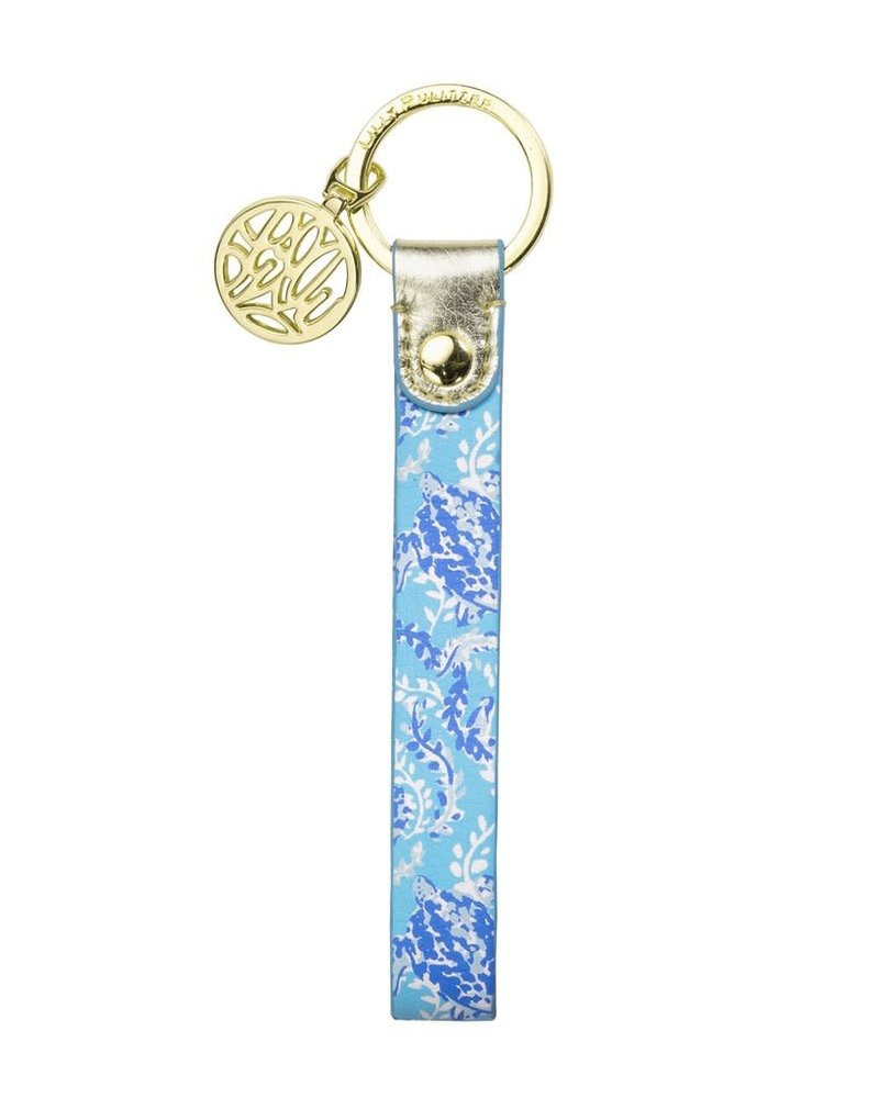 Lilly Pulitzer Turtley Awesome Key Fob