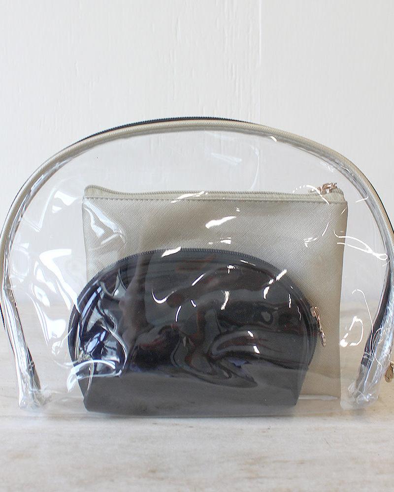 ROYAL STANDARD Set of 3 Cosmetic Bags