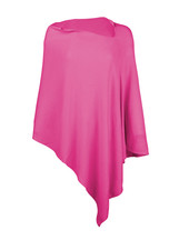 Wholesale Boutique Monogrammed Hot Pink Poncho