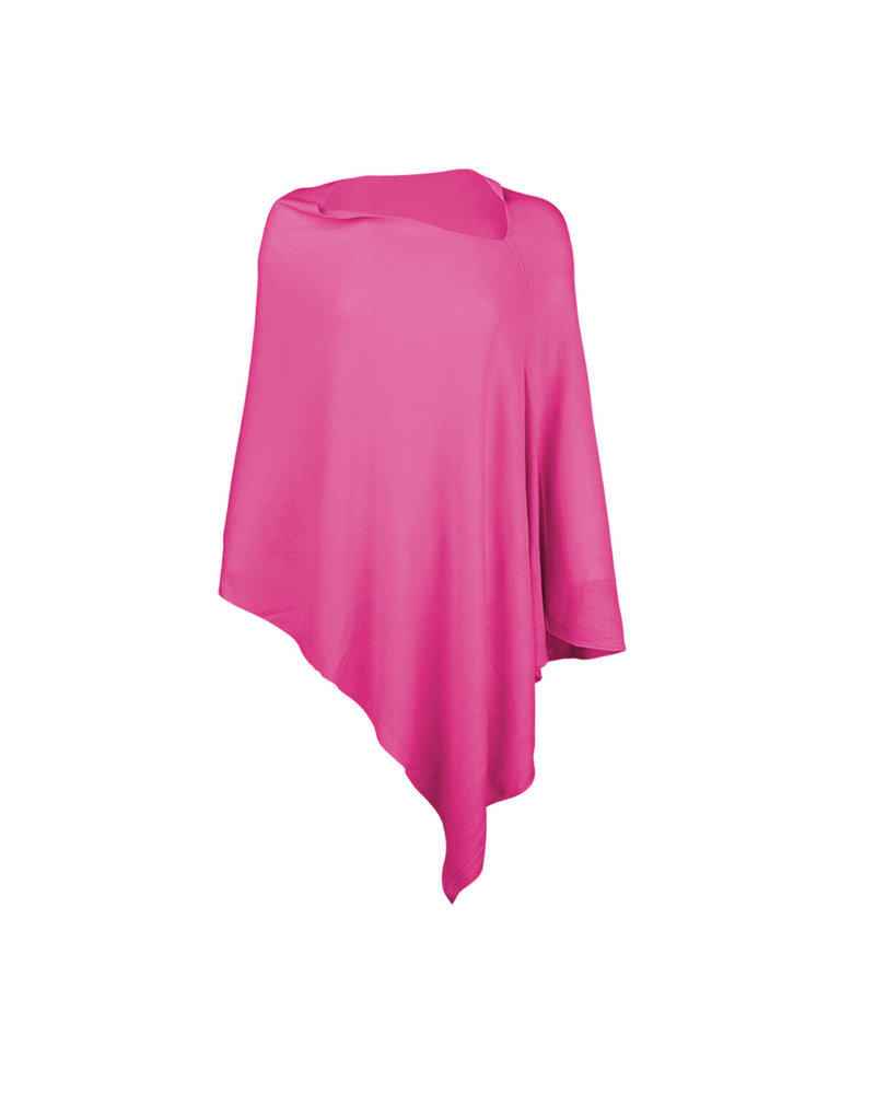 Wholesale Boutique Hot Pink Chelsea Poncho