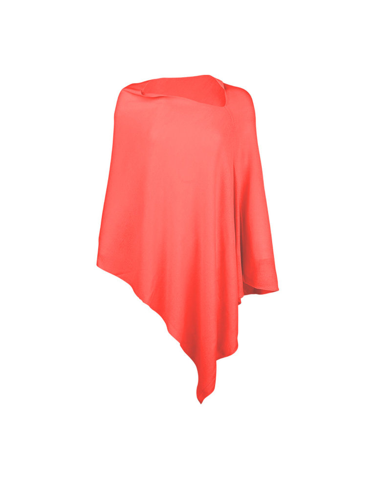 Wholesale Boutique Coral Chelsea Poncho