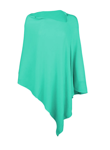 Wholesale Boutique Monogrammed Mint Poncho