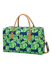 Wholesale Boutique Palm Leaf Weekender Bag