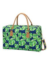 Wholesale Boutique Palm Leaf Weekender Bag