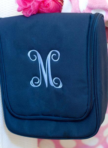 Wholesale Boutique Monogrammed Hanging Travel Case (4 colors)