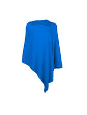 Wholesale Boutique Royal Blue Chelsea Poncho - Monogram Included