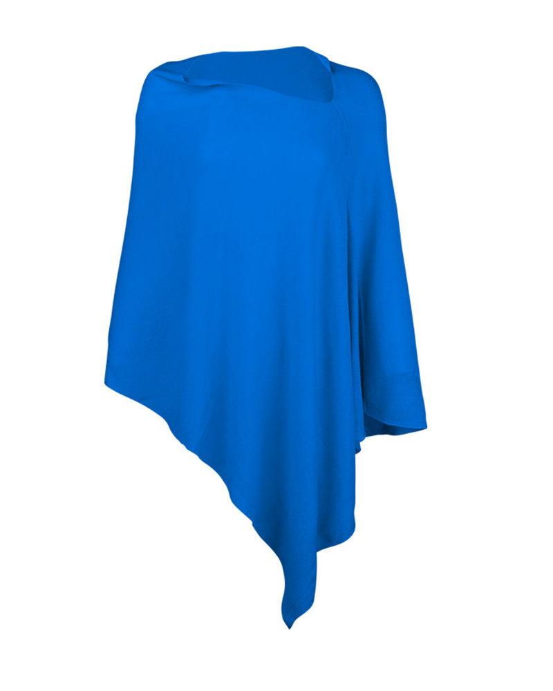 Wholesale Boutique Royal Blue Chelsea Poncho