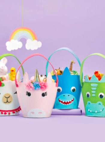 Two's Company Magical Easter Baskets - 4 Designs