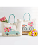 Two's Company Flower Market Tote Bags