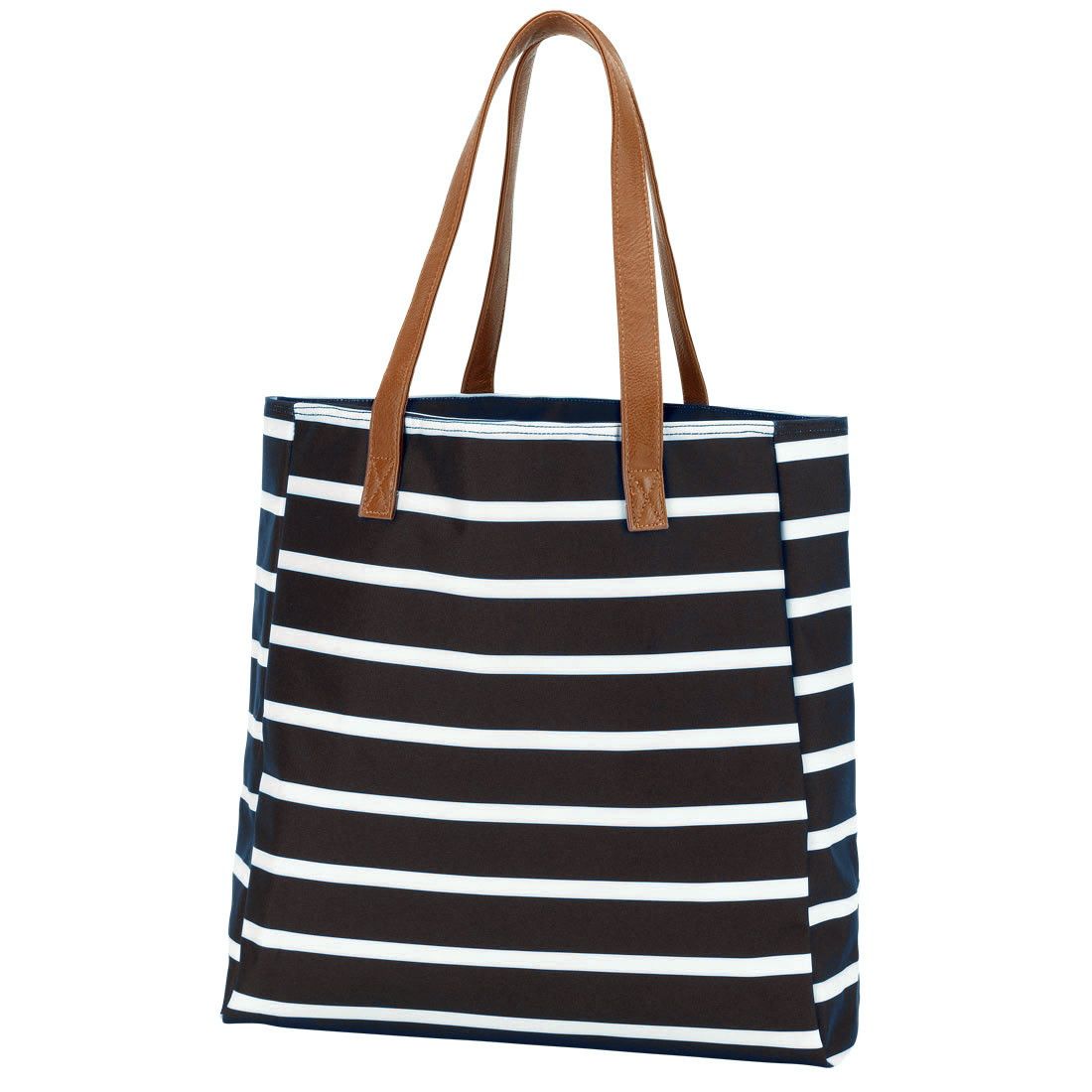 ab84dac2e1a Striped Tote Bag - 5 Color Options - Personalization Included ...