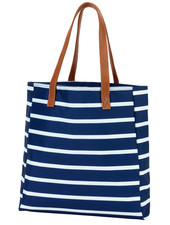 Wholesale Boutique Striped Tote Bag - 5 Color Options