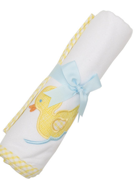 3 Marthas Yellow Duck Receiving Blanket