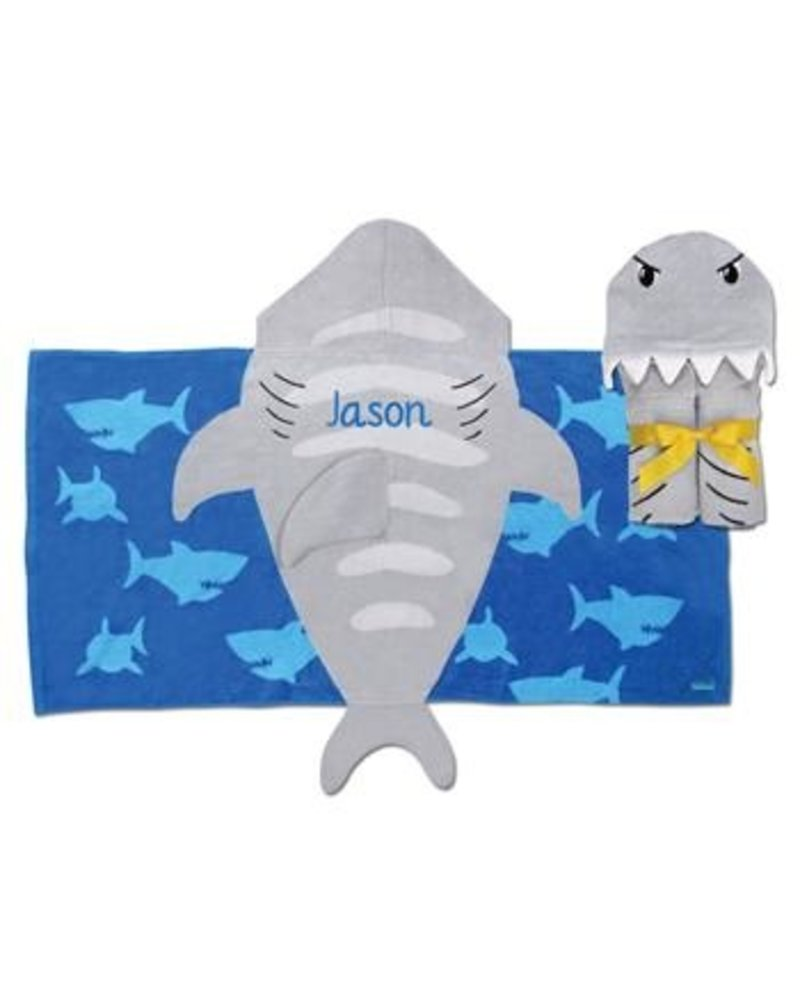 Stephen Joseph Hooded Beach Towel With Name