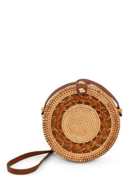 Round Wicker Crossbody - 3 Designs Available