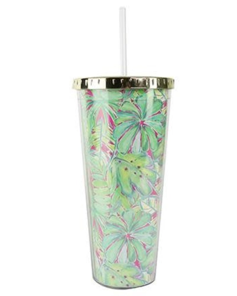 Mary Square Personalized Printed Straw Tumbler