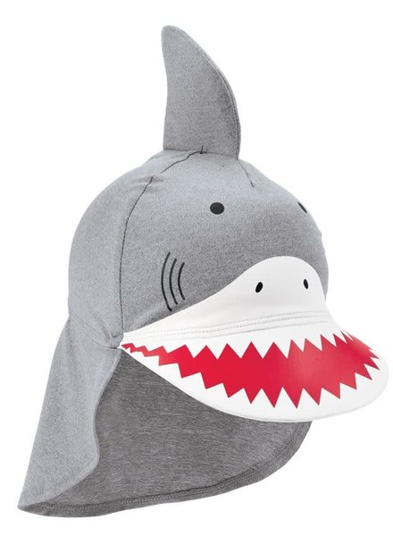 Mudpie Infant Shark Swim Hat