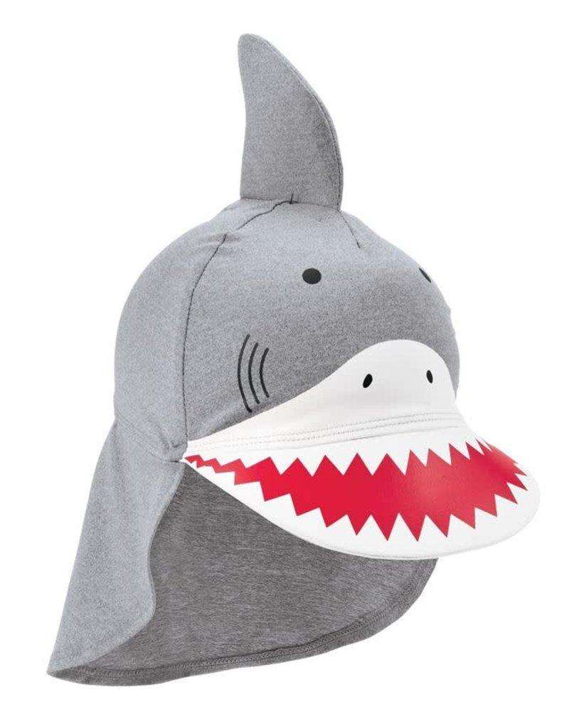Mudpie Mudpie Baby Shark Swim Hat