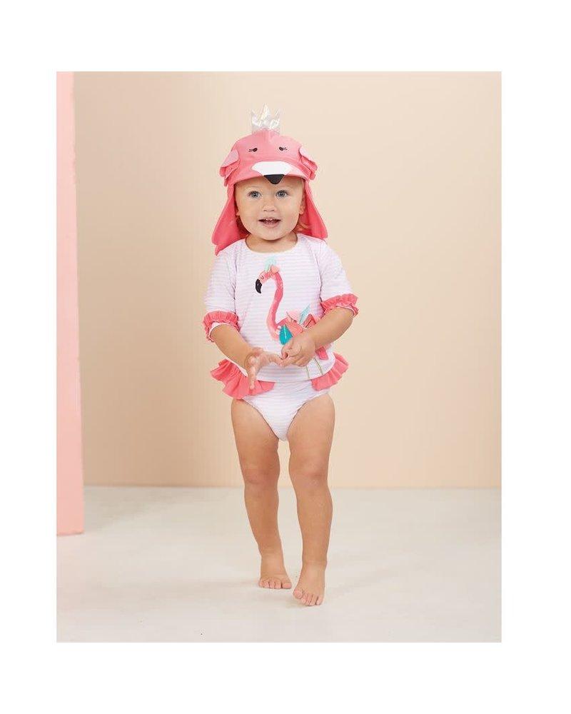 Mudpie Flamingo Baby Swim Hat