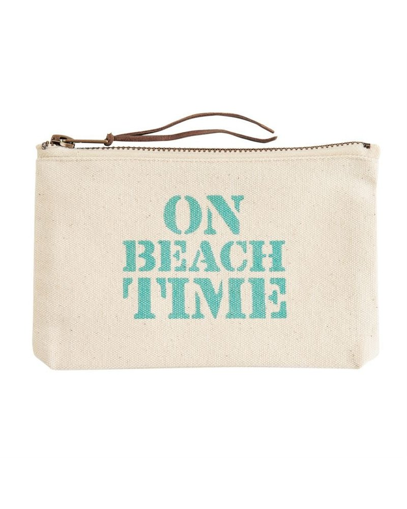 Mudpie Canvas Beach Pouch