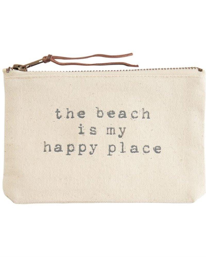Mudpie Canvas Beach Pouch