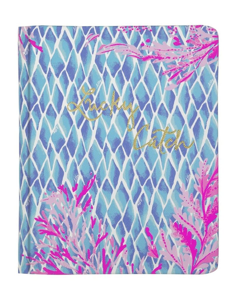 Lilly Pulitzer Kaleidoscope Coral Concealed Spiral Journal