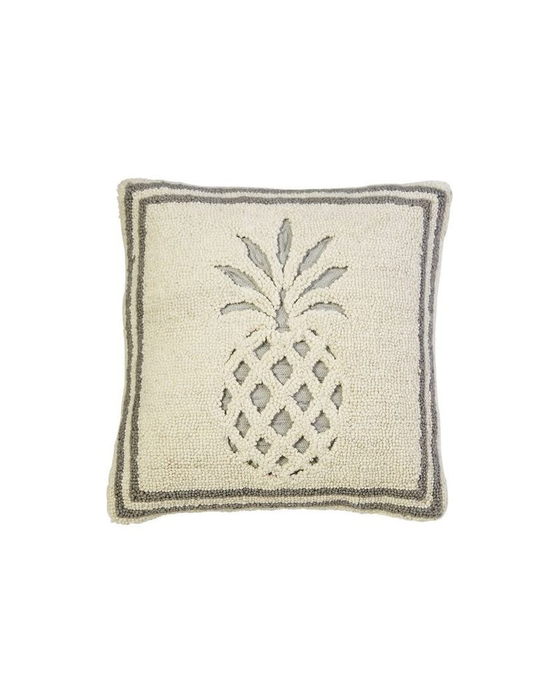 Mudpie Cream Pineapple Pillow