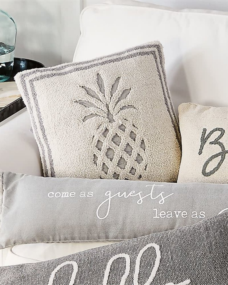 Mudpie Cream Pineapple Pillow