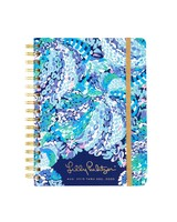 Lilly Pulitzer Lilly Large Agenda With Monogram - Choose Your Print