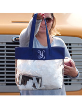 Wholesale Boutique Gameday Clear Tote Bag - 3 Colors
