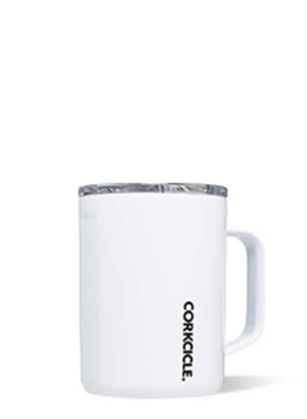 CORKCICLE White 16 oz Coffee Mug