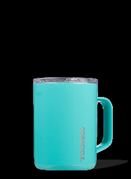 CORKCICLE Turquoise 16 oz Mug