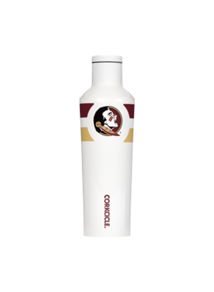 CORKCICLE FSU Striped 16 oz Canteen