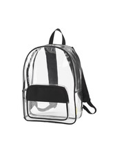 Wholesale Boutique Clear Personalized Backpack - 4 Color Choices