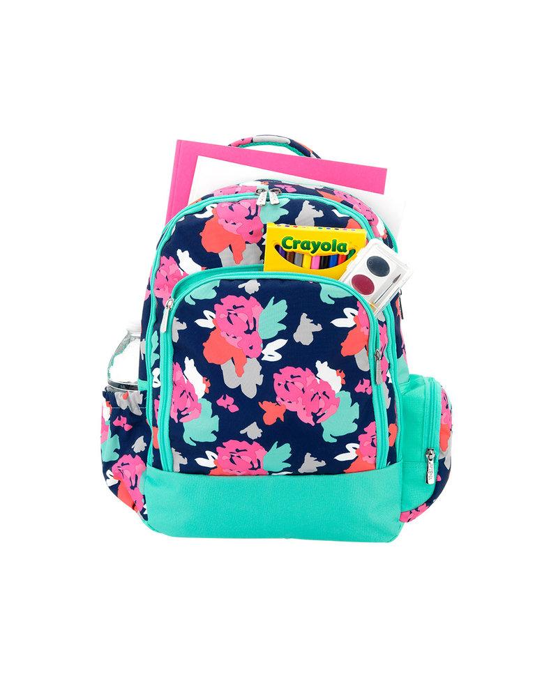 Wholesale Boutique Personalized Floral Book Bag